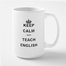 KEEP CALM AND TEACH ENGLISH Mug