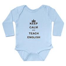 KEEP CALM AND TEACH ENGLISH Body Suit