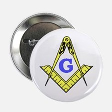 "Funny Blue lodge 2.25"" Button (10 pack)"
