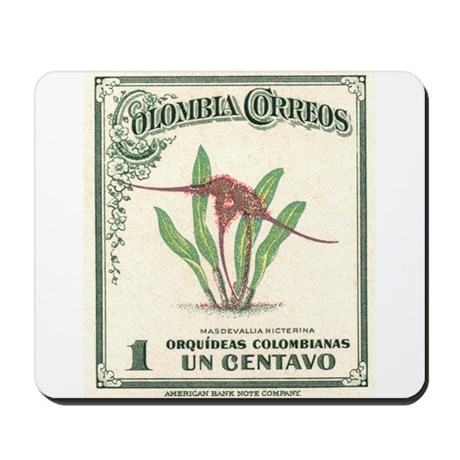 1947 Colombia Masdevallia Orchid Postage Stamp Mou