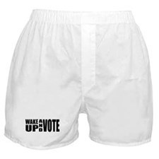 Wake Up and Vote Boxer Shorts