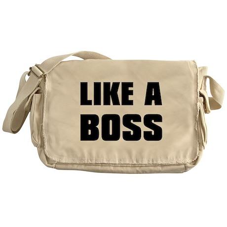 Like A Boss [bold] Messenger Bag