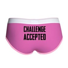 Challenge Accepted Women's Boy Brief