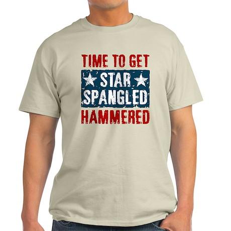 Star Spangled Hammered Light T-Shirt