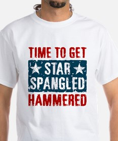Star Spangled Hammered Shirt