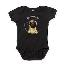 Pug IAAM Baby Bodysuit