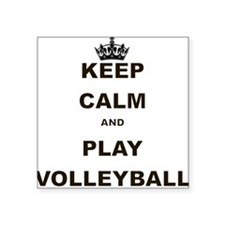 KEEP CALM AND PLAY VOLLEYBALL Sticker