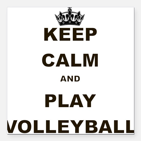 Keep Calm Volleyball Car Magnets Cafepress