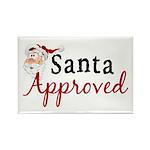 Santa Approved Rectangle Magnet