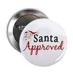 Santa Approved Button