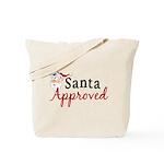 Santa Approved Tote Bag