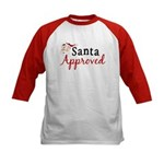 Santa Approved Kids Baseball Jersey