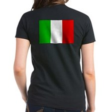 Italian Flag on Back Tee
