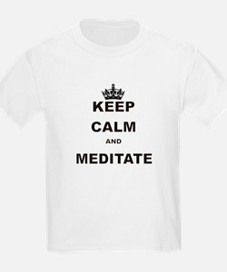 KEEP CALM AND MEDITATE T-Shirt