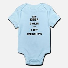 KEEP CALM AND LIFT WEIGHTS Body Suit