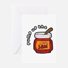 Pump up the Jam Greeting Cards (Pk of 20)