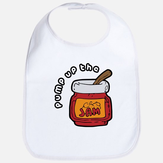 Pump up the Jam Bib