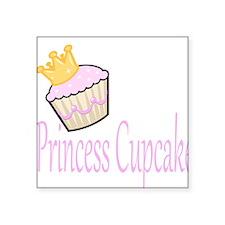 Princess Cupcake Sticker