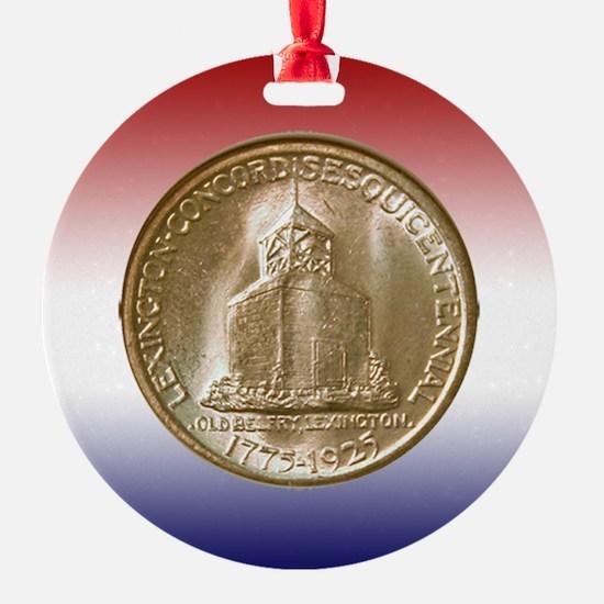 Lexington-Concord Coin Ornament
