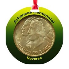 Arkansas Centennial Coin Ornament