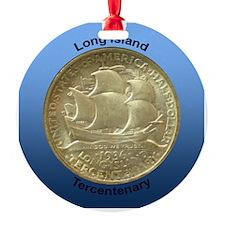 Long Island Tercentenary Coin Ornament