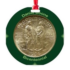 Daniel Boone Coin Ornament