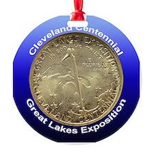 Cleveland Centennial Coin Ornament