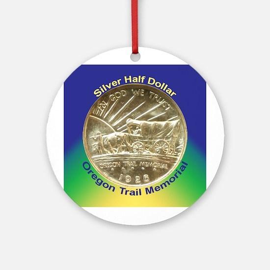 Oregon Trail Coin Ornament (Round)