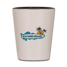 Navarre Beach - Surf Design. Shot Glass