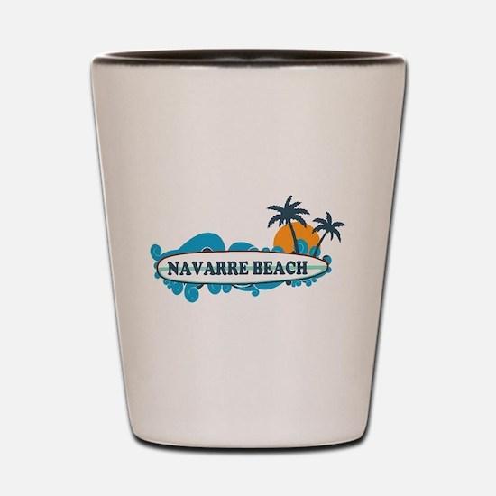 Navarre Beach - Surf Design. Shot Glass