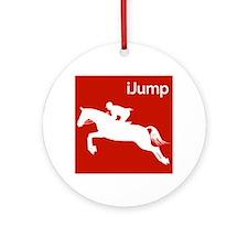 Horsback Riding iJump Silhouette for Equestrians O