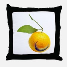 Slug Fruit Throw Pillow
