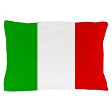 Square Italian Flag Pillow Case