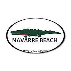 Navarre Beach - Alligator Design. Wall Decal