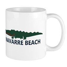 Navarre Beach - Alligator Design. Mug