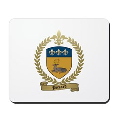 PICKARD Family Crest Mousepad