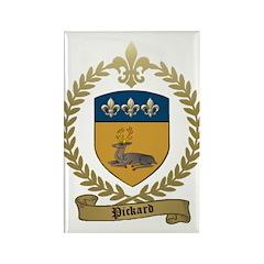 PICKARD Family Crest Rectangle Magnet (10 pack)