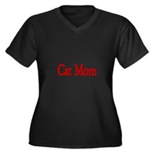 Cat Mom Plus Size T-Shirt