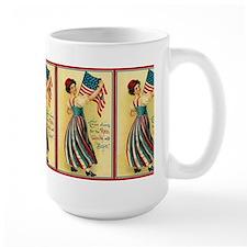 Red, White and Blue Mug