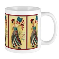 Red, White and Blue Mug