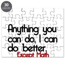 Anything you can do, I can do better Puzzle