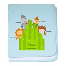 Wizard of Oz-Cute Characters baby blanket