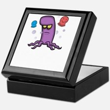 Life of a squid Keepsake Box