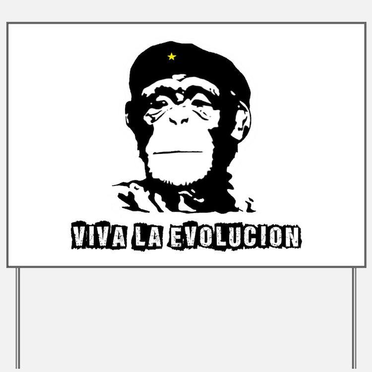 Human Evolution Yard Sign