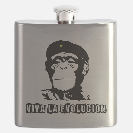 Human Evolution Flask