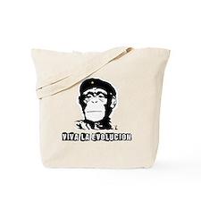 Human Evolution Tote Bag