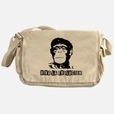 Human Evolution Messenger Bag