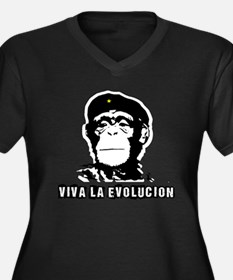 Human Evolution Plus Size T-Shirt