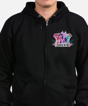 My Little Pony Squad Zip Hoodie (dark)