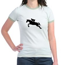 Horse Jumping Silhouette T